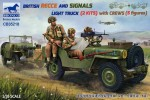 1-35-British-Recce-and-signals-light-truck-2-kits-with-5-crew