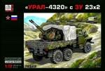 1-72-URAL-4320-mit-23-mm-Flak-ZU-23-2