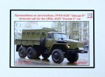 1-72-Armored-Cab-for-URAL-4320-Zvezda-V-car