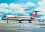 1-144-Tupolev-Tu-134A-East-German-DDR-Interflug
