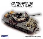 RARE-1-35-M10-Accessory-set-for-AFV-Club-M10-Inc-a-Crew