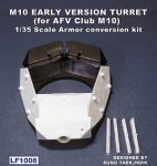 RARE-1-35-M10-Early-Version-Turret-for-AFV-Club-M10