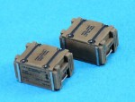 1-35-WWII-Cal-50-Wooden-Ammo-Crate-set-100RD-Home-L