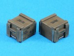 1-35-WWII-210rd-Cal-50-Wooden-Ammo-Crate-set
