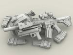 1-35-HK416*XM320-set-3ea