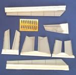RARE-1-48-F-100D-Control-Surfaces-set-for-Monogram