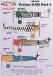 1-48-Fokker-D-VIIs-Fokker-D-VIIF-4348-18-of-Jasta-Boelcke-November-1918-