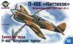 RARE-1-72-P-40E-Kittyhawk-fighter-soviet-air-force-SALE-