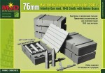 1-35-Russian-WWII-76mm-model-1943-Shells-with-Ammo-Boxes
