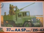 1-72-61-K-37-mm-AA-SPG-on-base-of-ZIS-42-Half-truck