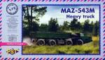 1-72-MAZ-543M-Heavy-Truck