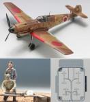 1-48-Messerschmitt-Bf-109-E-7-JGSDF-w-Maintenance-Scene-Set-2