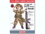 1-12-Gulf-War-U-S-Infantry-Woman-Sandy-w-Colt-M16A2-Rifle