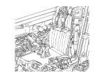 1-48-Modern-Air-Force-Seat-Belt-Set-2-F-15-F-16-Seat-Belt