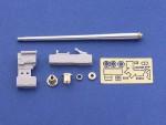 RARE-1-35-75mm-PaK40-Gun-Barrel-for-German-Anti-tank-Gun-Muzzle-Brake-Late-Model