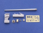 RARE-1-35-75mm-PaK40-Gun-Barrel-for-German-Anti-tank-Gun-Muzzle-Brake-Late-Model-SALE