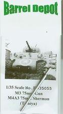 RARE-1-35-M3-75mm-Gun-M4A3-Sherman-for-Tamiya