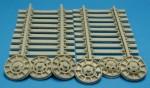 RARE-1-35-GMC-6x6-Railroad-Wheels-w-Track-Sec-SALE-