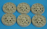 RARE-1-35-GMC-6x6-Railroad-Wheels-SALE-