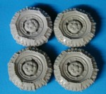 RARE-1-35-3-4-ton-Dodge-Wheels-w-Chains-SALE-