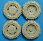 RARE-1-35-Steyr-1500-A-01-Tires-With-Chains-SALE-