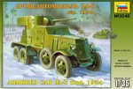 1-35-BA-3-mod-1934-Soviet-WW2-Armored-Car-model-kit