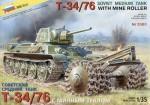 1-35-T-34-76-Soviet-WW2-Medium-Tank-with-Mineroller-model-kit