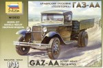 1-35-GAZ-AA-Soviet-WW2-Army-Truck-model-kit