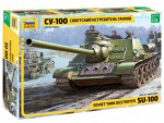 1-35-Soviet-S-P-Gun-SU-100-new-molds