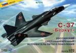 1-72-Sukhoi-S-47-Berkut-Russian-modern-supermanoeuvrable-fighter-of-5-th-generation