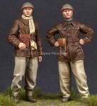 1-35-WW2-French-Tank-Crew-Set-2-figures
