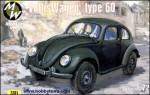 RARE-1-72-KdF-Volkswagen-German-car-4x4-type-60