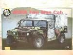 RARE-1-72-M988-US-two-man-army-jeep-HMMWV