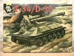 1-72-T-34-D-30-Syrian-self-propelled-gun