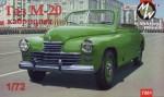 1-72-GAZ-M20-Pobeda-cabriolet-Soviet-car