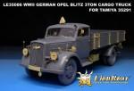 RARE-1-35-WWII-GERMAN-OPEL-BLITZ-3ton-CARGO-TRUCK