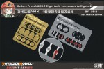 1-35-Modern-French-AMX-13light-tank-Lenses-and-taillightsFor-TAMIYA-35349