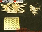 1-35-WWII-German-88mm-L-71-Tank-gun-ammunition-and-accessory10-Kit