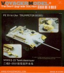 1-35-Photo-Etched-set-for-WWII-E-25-Tank-Destroyer