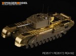 1-35-WWII-British-Churchill-Mk-III-Infantry-Tank-Fenders-For-AFV-CLUB-35153