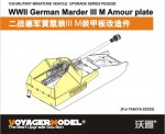 1-35-WWII-German-Marder-III-M-Amour-Plate-For-TAMIYA-35255