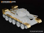 1-35-WWII-Russia-T-34-76-No-112-Factory-Late-Production-Fenders-For-DRAGON-6479-6452-