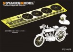 1-35-French-Peugeol-1917-750cc-cyl-MotorcycleFor-MENG-HS-005
