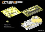1-35-German-self-propelled-howitzer-Wespe-Fenders-and-Amour-Plate-For-TAMIYA-35200