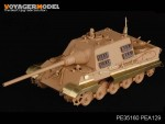 1-35-WWII-German-Sd-Kfz-186-Panzerjager-Jagdtiger-Schurzen-For-TAMIYA-DRAGON-Kit