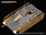 1-35-WWII-German-StuG-IV-Thoma-shields-wire-mesh-schurzen-For-DRAGON-Kit
