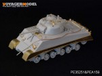 1-35-WWII-USMC-M4A2-Mid-Tank-Late-Version-Side-Skirts-For-DRAGON-Kit
