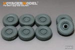 1-35-Modern-US-COUGAR-6X6-MRAP-Road-Wheels-Ver-B-6+2PCES-For-MENG-SS-005