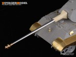 1-35-WWII-German-King-Tiger-Barrel-Porsche-Turret-Early-version-For-All