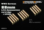 1-35-German-88mm-L-56-Ammunition-cartridge
